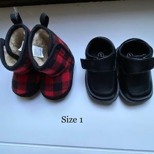 Infant Size 1 Boots and Shoes